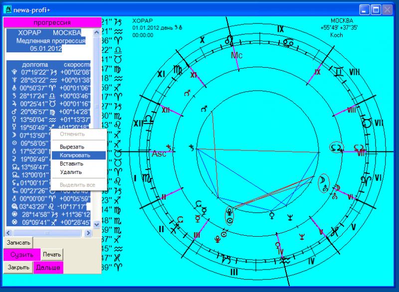 Астрологическая программа нева скачать